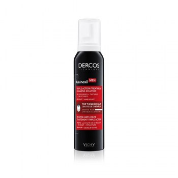 dercos aminexil men triple accion espuma 150ml