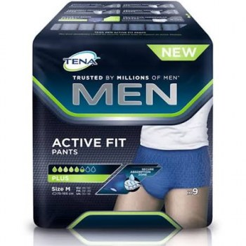 tena men active fit pants talla m